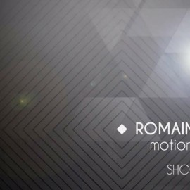 showreel 2013 motion designer